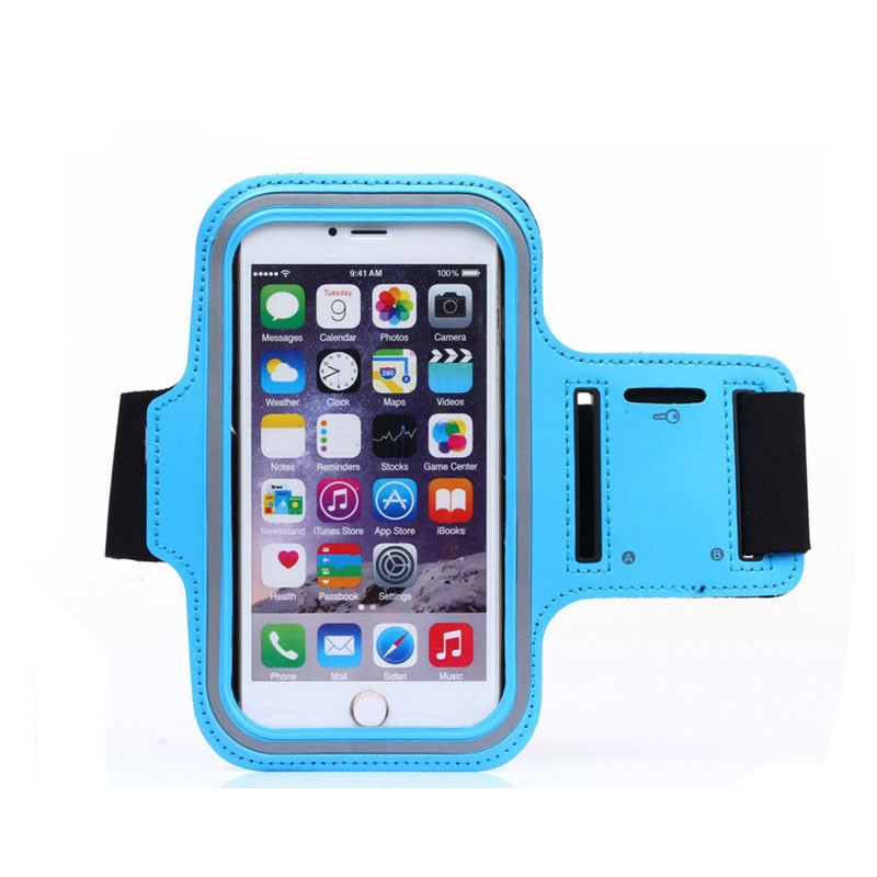 Wholesale OEM / ODM Running sports arm band case for mobile phone neoprene arm band