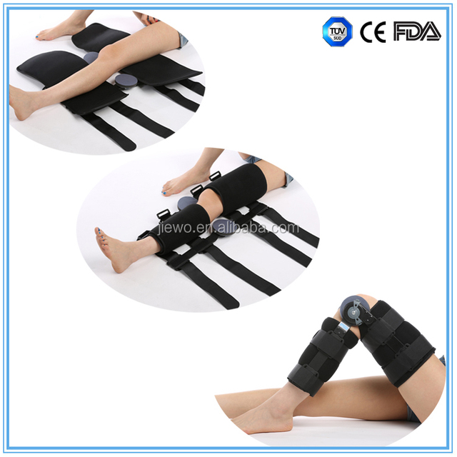 c15549013f knee sprained / fracture immobilizer hinged knee support brace for knee  stabilization