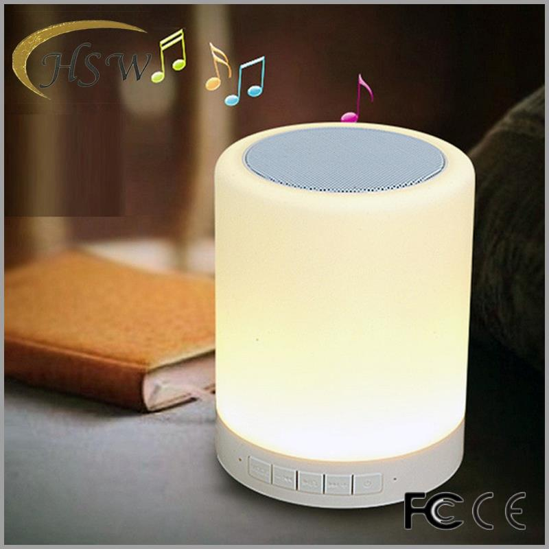 LED Light Lamp Wireless Aec L7 best headset Bluetooth Speaker