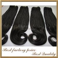Unprocess factory supply track hair braid 100 human hair box braid wig brazilian crochet braid hair