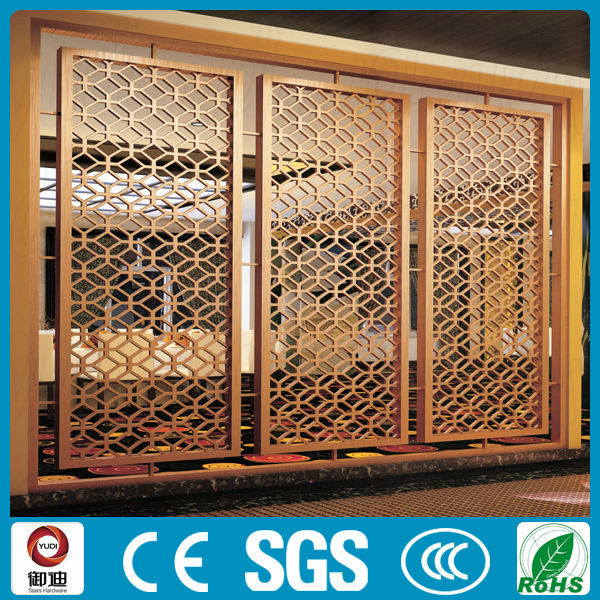 China Cheap Latest Decoration Laser Cut Wrought Iron Room