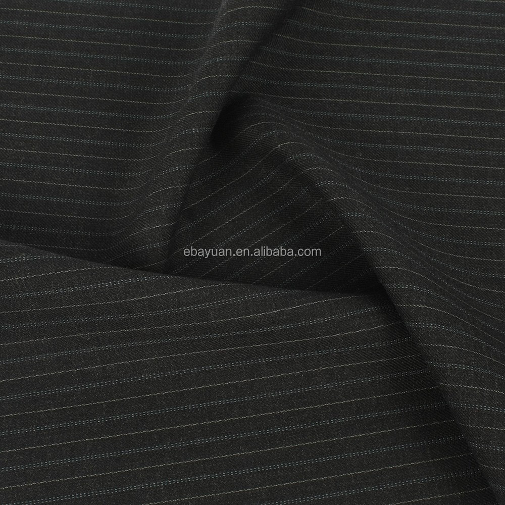 Make-to-order supply type Woven technics twill suit fabric