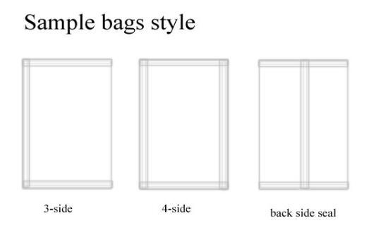 5 Gam Tự Động Đường Bột Pouch Bag Sachet Điền Đóng Gói Máy Làm