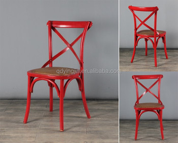 vintage chair wood cross back chair cafe chair for sale and rental & Vintage Chair Wood Cross Back Chair Cafe Chair For Sale And Rental ...
