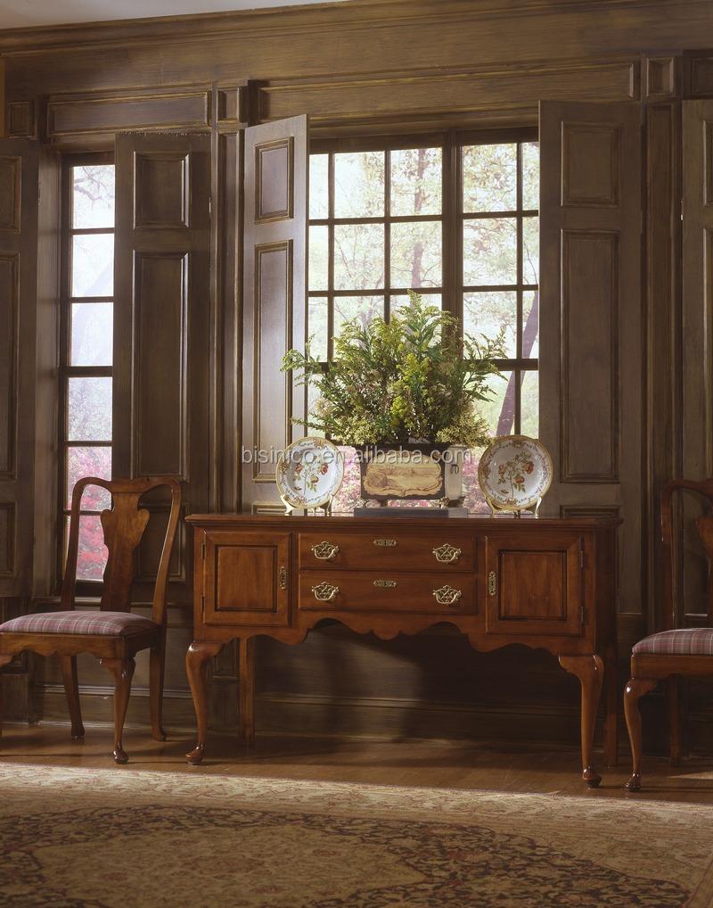 Amerikaanse Houten Meubels Arm Stoel Classic Royal