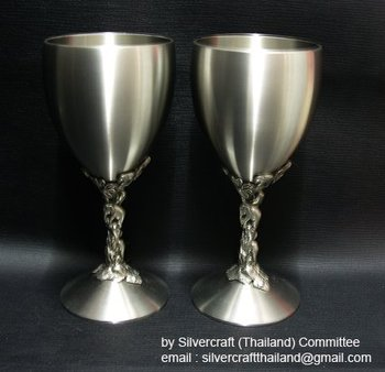 Pewter Wine Goblet Buy Wine Goblet Product On Alibaba Com