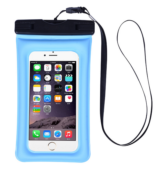 PVC waterproof mobile phone pouch Swimming compass waterproof dry bag cell phone