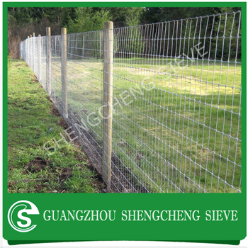Galvanized Hog Wire Fencing/ Twisted Fence Wire/ Ring Lock Fencing ...