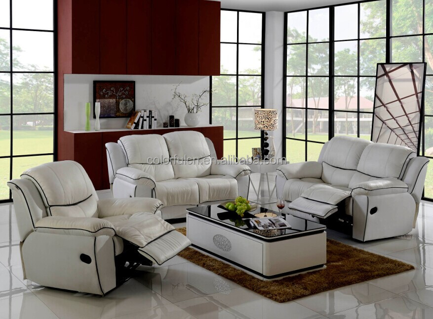 2015 New Design 1+2+3 Genuine Leather Recliner Sofa Home Recliner Sofa LS020 & 2015 New Design 1+2+3 Genuine Leather Recliner Sofa Home Recliner ... islam-shia.org