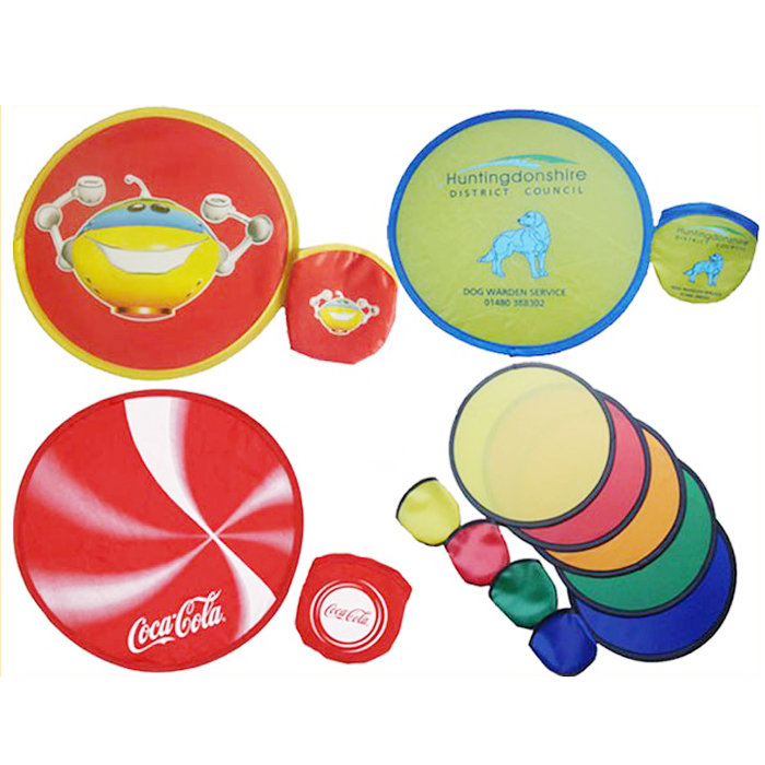 PROMOTIONAL POP UP FOLDING FRISBEE