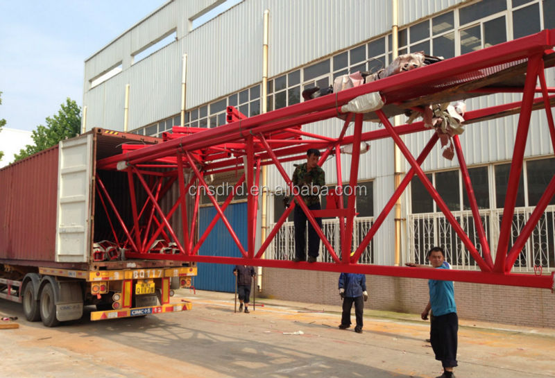 Chinese QTZ500 Tower Crane With CE Certificate