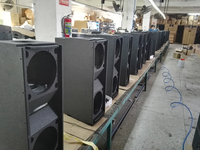 "double 10"" line array speaker empty cabinet"