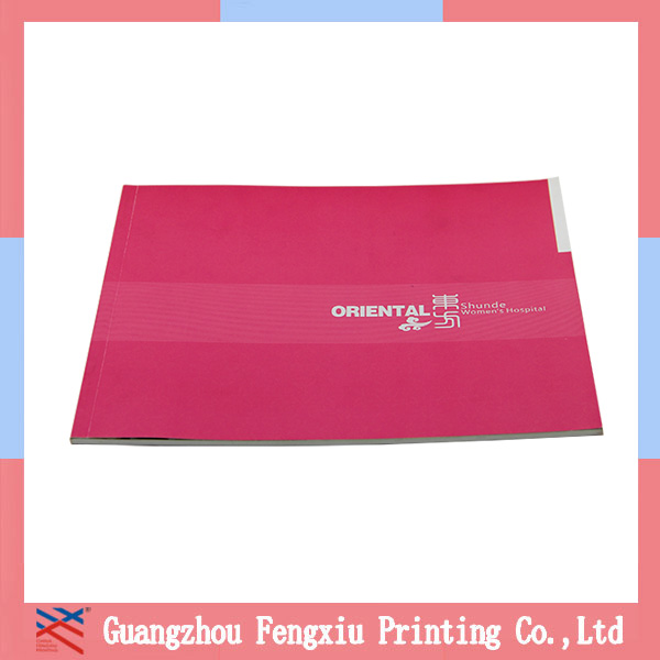 Promotion Red Color Unique Folded Catalog And Brochure