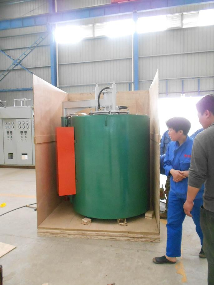RQ3 Series Vertical Heat Treatment Gas Carburizing Furnace for Car Gears ,Chain