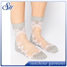 floral sheer dreamgirls in socks