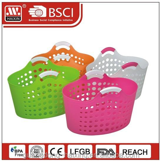 Pink Plastic Laundry Basket Mesmerizing Plastic Laundry Basket With Handlelaundry Basket Buy Plastic