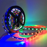 12v 60leds/m 20IC rgb led strip ws2811 SM16703 UCS1903 led pixel strip programmable IP20 5m black pcb 2 year warranty