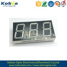 ROHS&REACH KHN308011ASR1D-3 LED seven segment display for washing machines
