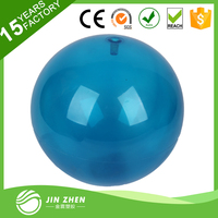 best selling transparent soft gym ball yoga ball for fitness with custom logo