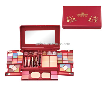 KMES unique big cosmetic with all items makeup kit C-891