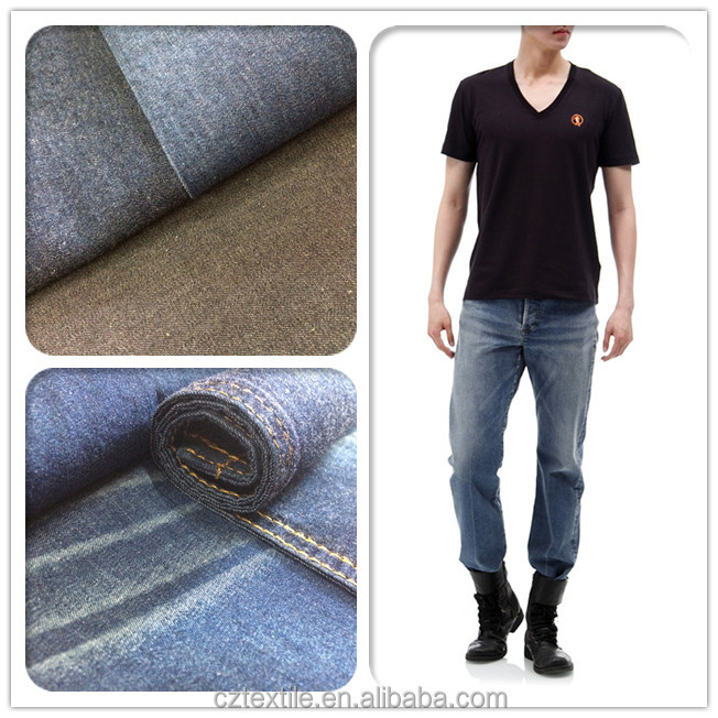 100% Cotton 2/1 Twill 30*28 Denim Fabric
