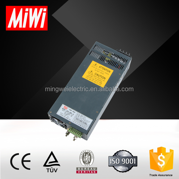 SCN-1000-15 SMPS Led Driver Switch 1000W Power Supply 48V 20A Power