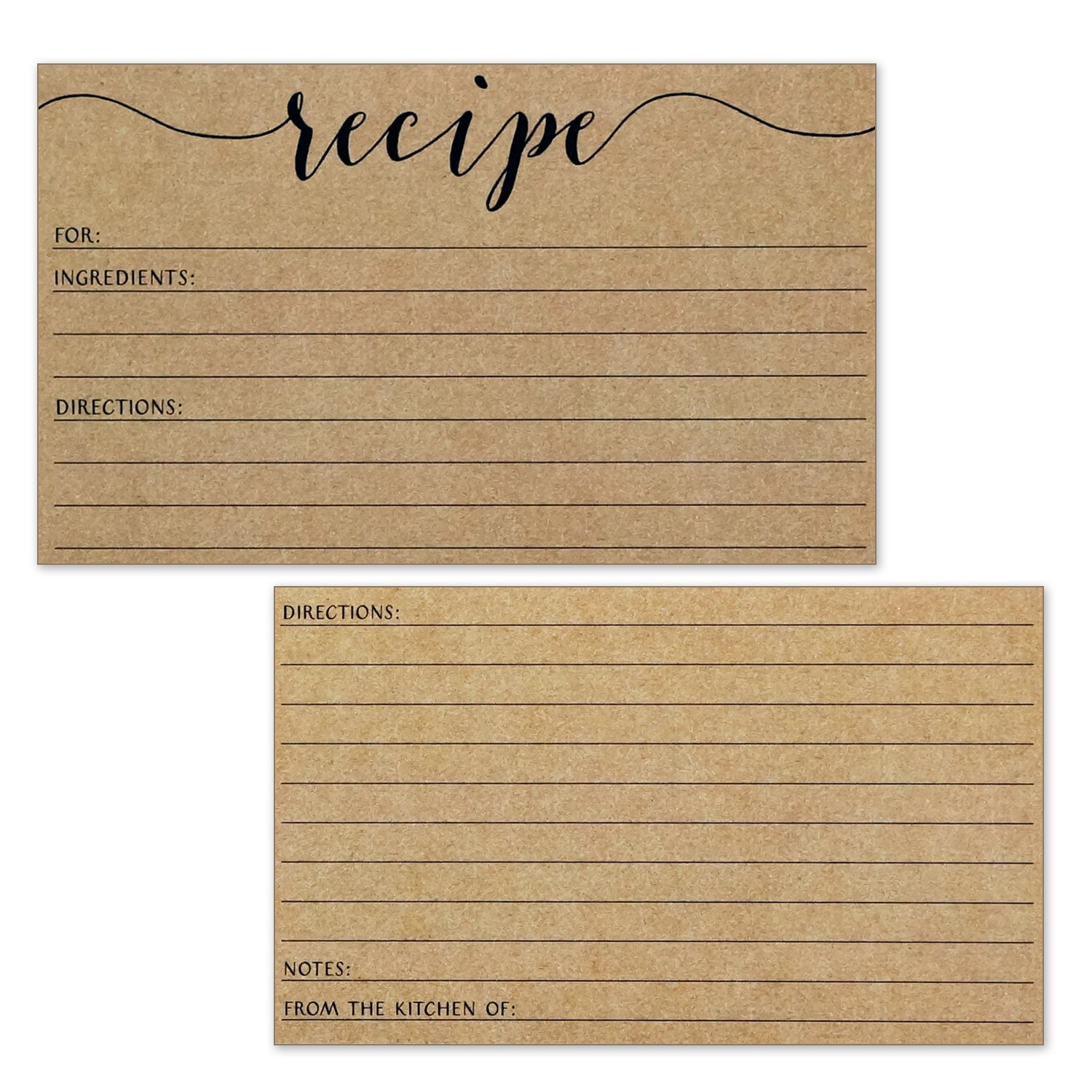 Blank Paper Cards 100 Pcs In A Box Message Card Business Card
