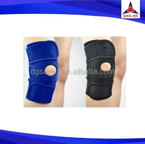 Compression knee sleeves riding elastic neoprene knee support gym protector comprehension