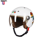 2018 NEW Casque Capacete De Moto Motocross Motociclista Cascos Para Moto Kids Children Open Half Face Safety Motorcycle Helmet