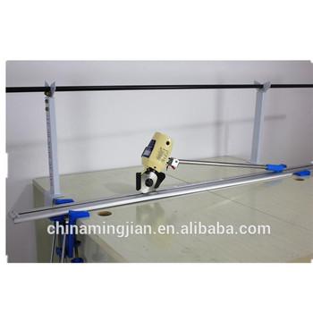 220V End Cloth Cutting Machine Rail-mounted Track Cloth End Cutter Tool