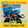 Wholesale hid kits HID kit slim ballast H4 Hi/Lo 35W/55W hid xenon kit h2 with ceramical base