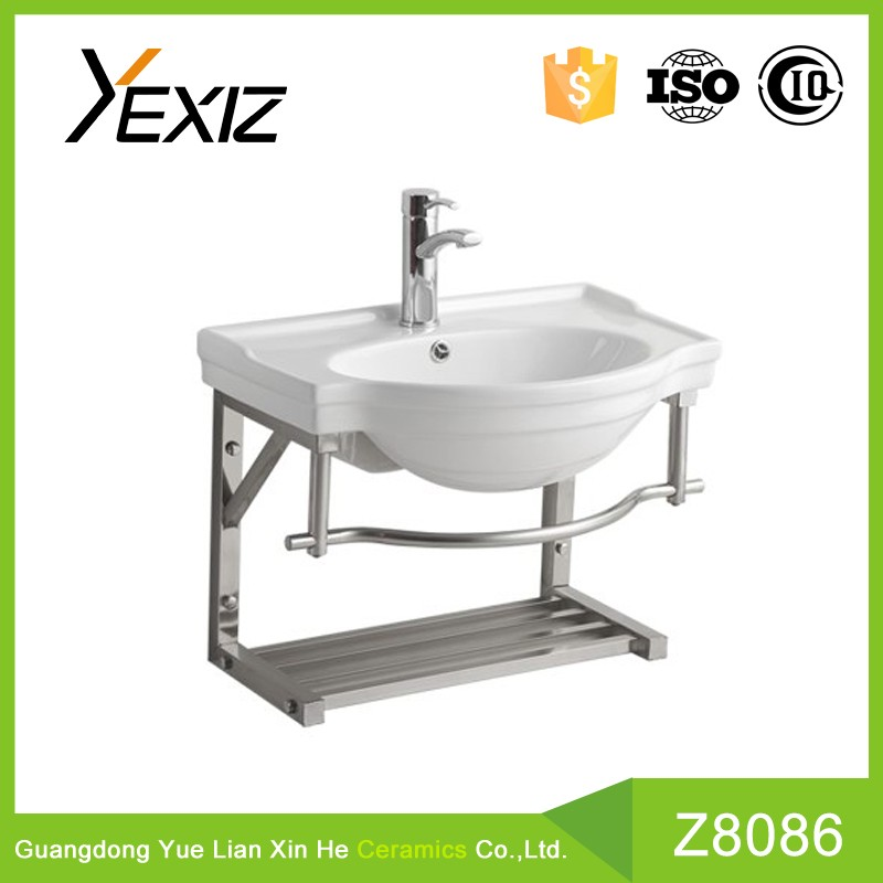 P808 New design stainless steel basin sanitary ware Stainless cabinet
