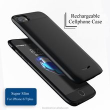 Hot Phone Accessories Battery backup Ultra-Slim Protective Extended shockproof Battery Charging Case for iphone6/7/plus