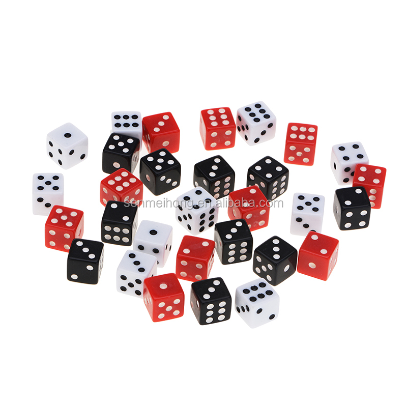 Commercio all'ingrosso Personalizzato gaming dice bulk 12mm, 14mm e 16mm dot dadi