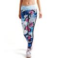 2016 Women Sportswear Yoga Pants Skinny High Waist Elastic Fitness Yoga Tights Sports Leggings Women Yoga