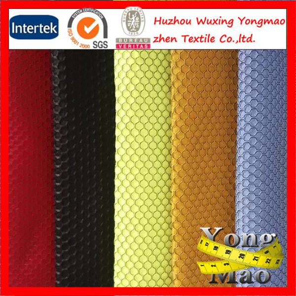 2-4mm Thickness Wholesale Polyester 3d Spacer Mesh Fabric