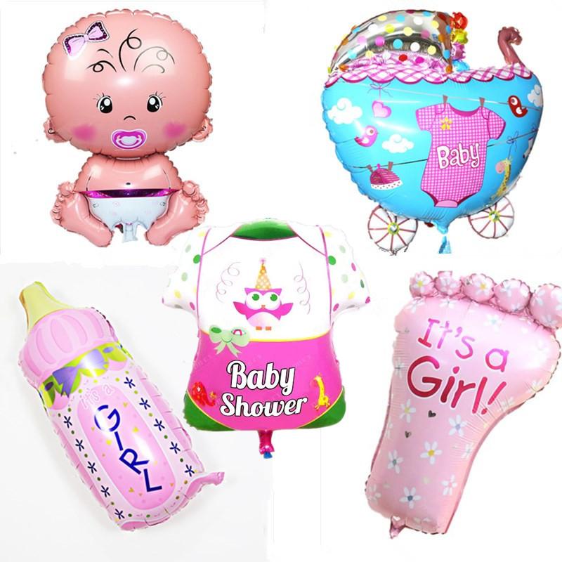 Helium Balloons Baby Shower: Aliexpress.com : Buy 5 Designs Foil Balloons Cartoon Baby