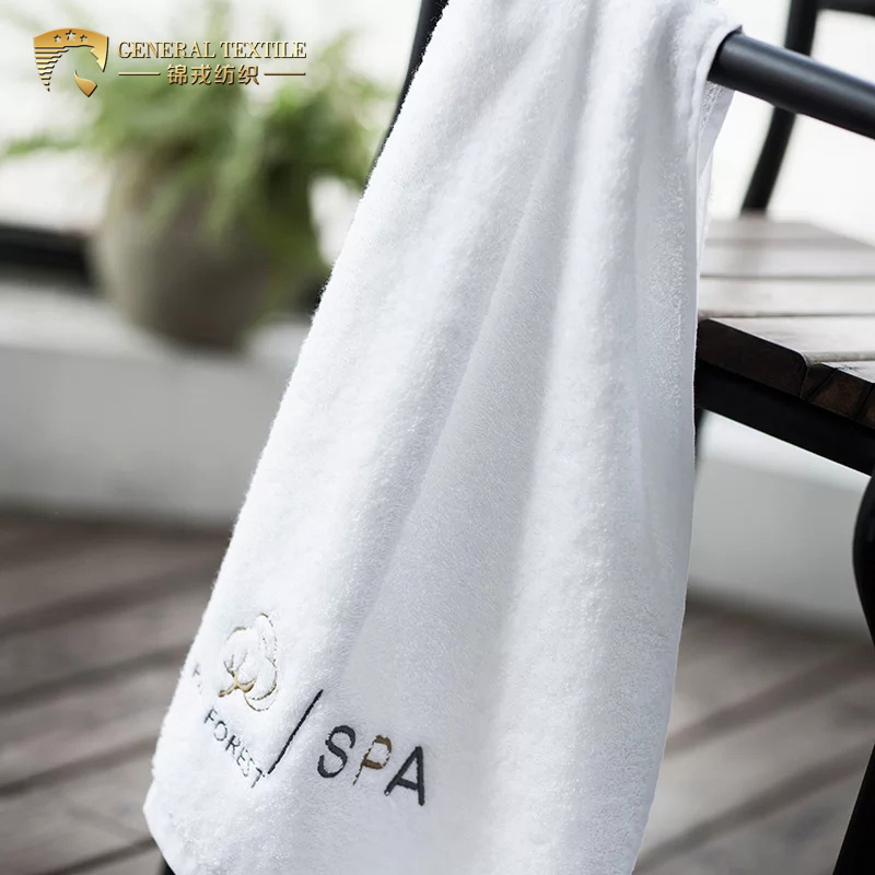 JR426 Wholesale Luxury Spa Clean Collection Hand Towels Embroidered Logo