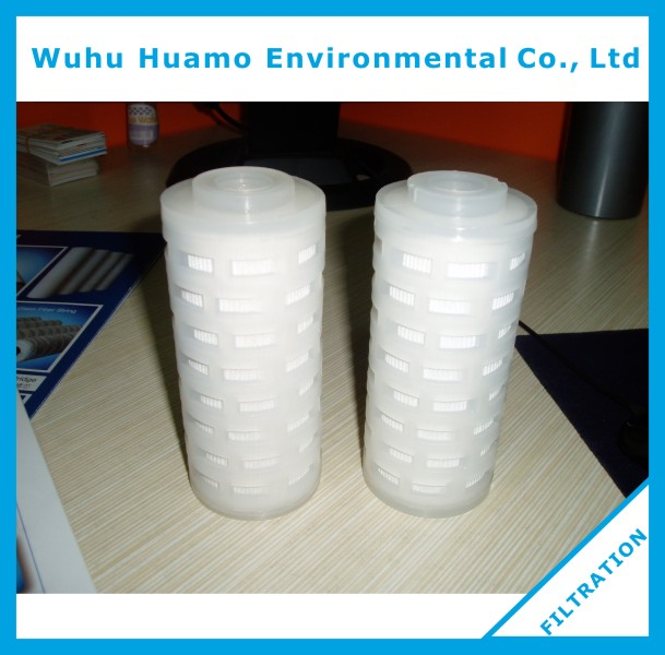 Filtration Polypropylene Water Filters RO system PP Pleated Filter Cartridge