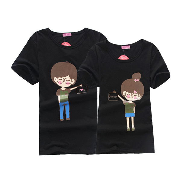 Custom Love Couple T-shirt Design In China - Buy Love ...