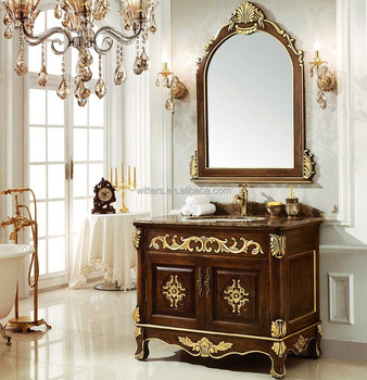 Delicieux Antique Fine Handmade Victorian Bathroom Vanity,Vintage Custom Quality  Royal English Style Bathroom Vanity WTS206