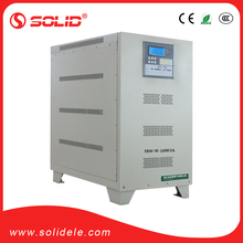 solid electric pwm igbt static 100KVA stac voltage stabilizer