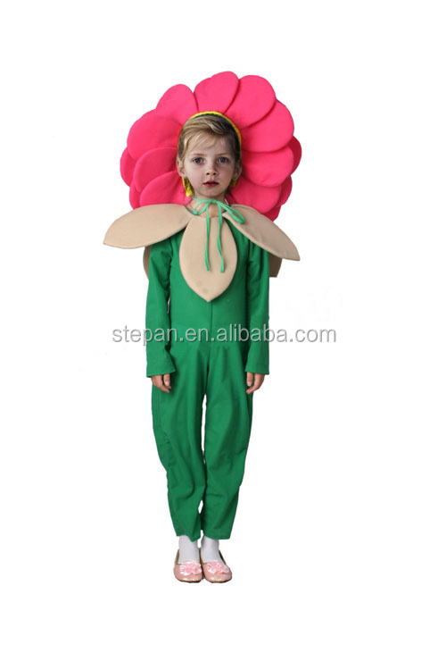 Tz 68229 Kids Flower Fancy Dress Costumes Costume For Sunflower Product On Alibaba