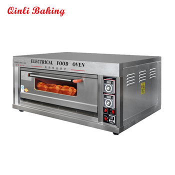 Beautiful Commercial Portable Electric Pizza Oven 1 Decks 2 Trays For Sale
