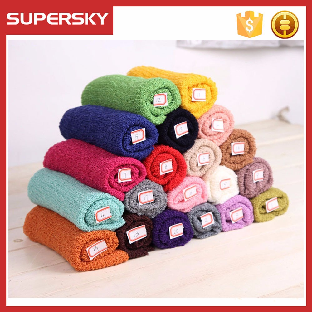 Newborn Rayon Stretch Wrap 10 Colors Available Photo Prop