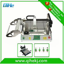 pcb assembly smt manufacture smd machine 4 heads LED high speed machine