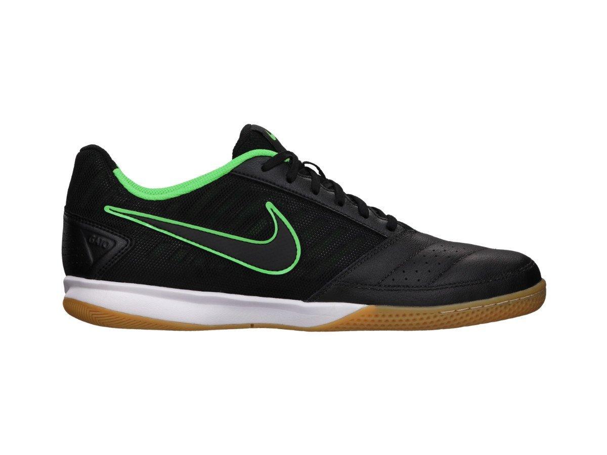 bd67e66dcf9 Get Quotations · Nike Men s Gato II - (BLACK BLACK-POISON GREEN) ...