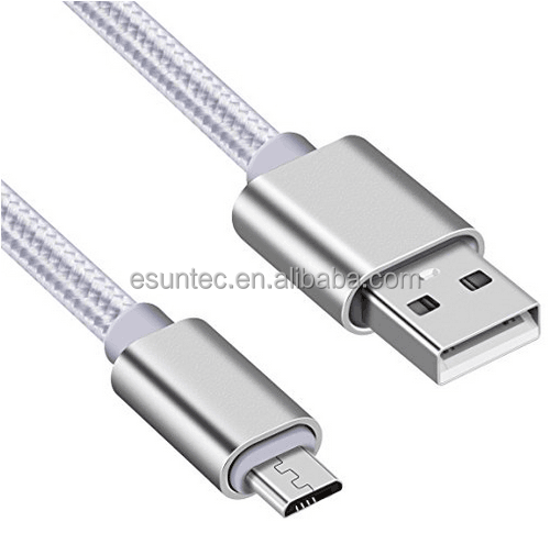 Compatible Magnetic Metal Original Micro USB Cable Esuntec MCU-013