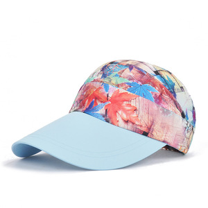 Hot Sale Custom Factory Wholesale Caps Soft All Sublimation Print Sport Baseball Caps Bulk
