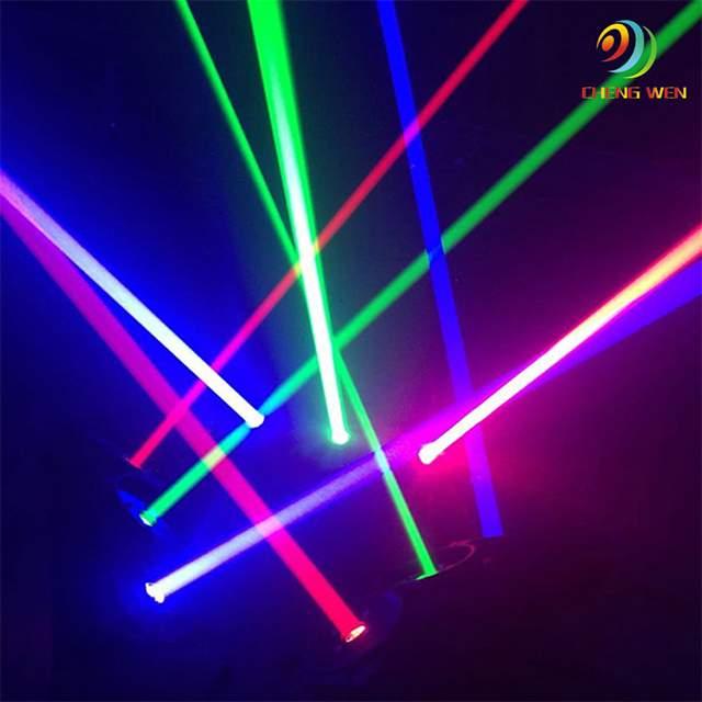 डिस्को प्रकाश rgbw 4in1 आगे बढ़ सिर डीजे 9 आंखें 10 w आगे बढ़ मकड़ी बीम सिर प्रकाश का नेतृत्व किया